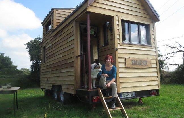 Laetitia et son chien Apex