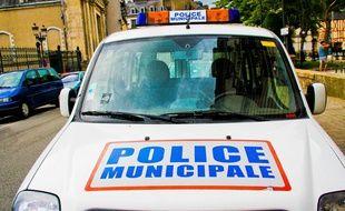 Une voiture de la police municipale (illustration)