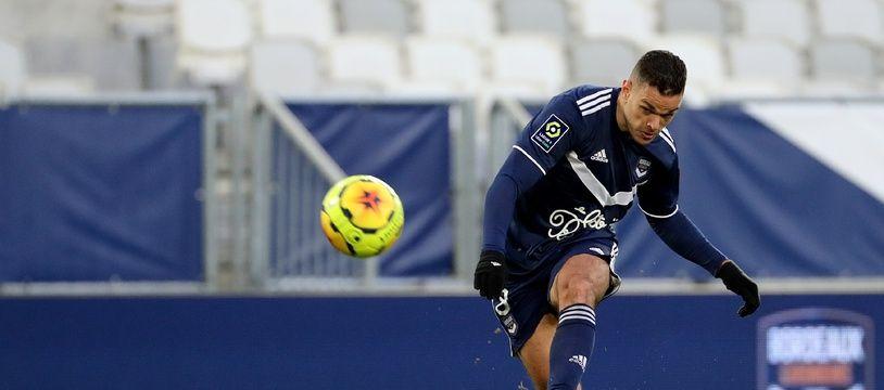 Hatem Ben Arfa a inscrit le seul but de la rencontre entre les Girondins et Brest d'une belle frappe.