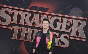 Noah Schnapp le 29 juin 2019 pour la série «Stranger Things».