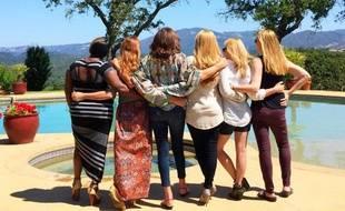 Caitlyn Jenner et ses copines sur Twitter