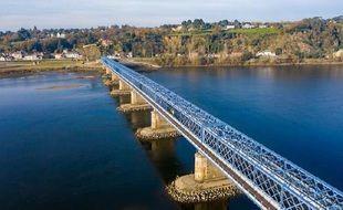 Le pont de Mauves a rouvert avec une nouvelle couleurce vendredi