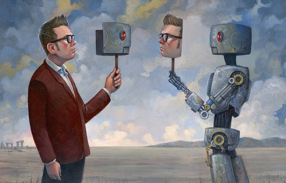 Chris Dancy, l'Américain qui se décrit comme un *cyborg conscient* était à Paris pour Futur en Seine.  – The Real You - Chris Dancy (2012)  Commissioned work by Aaron Jasinski