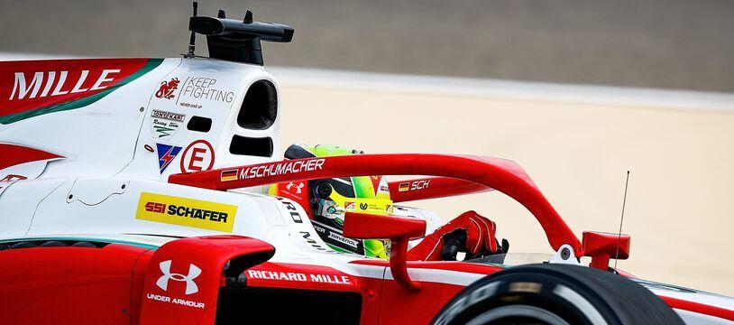 Mick Schumacher a remporté le titre en F2 après le dernier GP de la saison, le 6 décembre 2020.