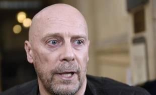 L'essayiste d'extrême-droite Alain Soral, le 12 mars 2015 à Paris