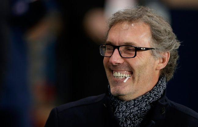 Laurent Blanc, l'entraîneur du PSG, le 19 janvier 2016 au Parc des Princes.