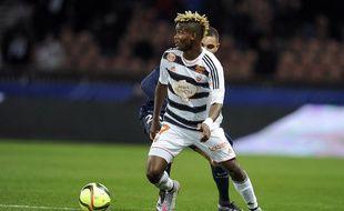 Le désormais ex-Lorientais Didier Ndong, ici face au PSG en février 2016.