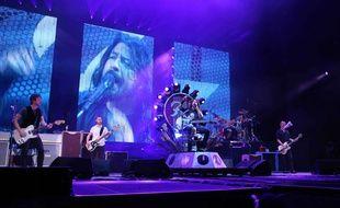 Les Foo Fighters en concert à Atlanta le 4 octobre.
