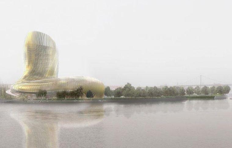 Projet de Cité des civilisations et du vin à Bordeaux