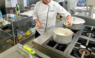 Chef cuisinière, Marie-Ange Frémeaux est aussi formatrice pour A Pro Bio.