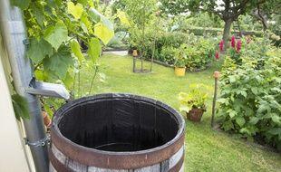 Des dispositifs simples et à la portée de tous permettent de récupérer l'eau de pluie pour l'utiliser dans le jardin.