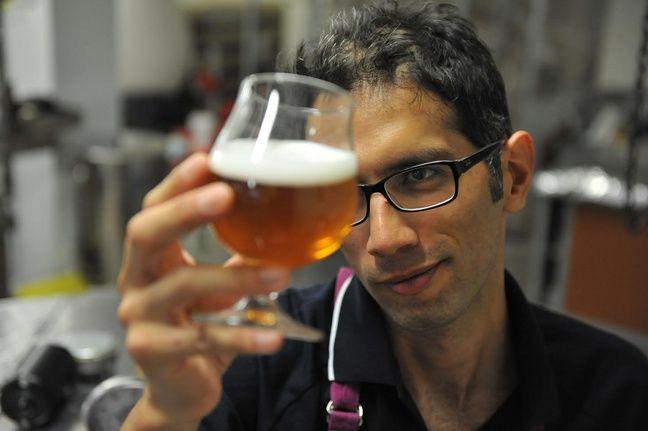 Le brasseur Gonzalo Araque