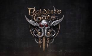 Le logo du jeu vidéo «Baldur's Gate 3», dévoilé le 6 juin 2019.