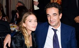Olivier Sarkozy et Mary-Kate Olsen à New York en septembre 2014.