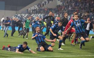 L'Atalanta qualifiée pour la première fois de son histoire pour la Ligue des champions.