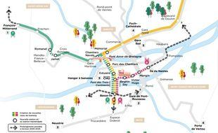 Les nouvelles lignes de tramway s'appelleront 6, 7 et 8.