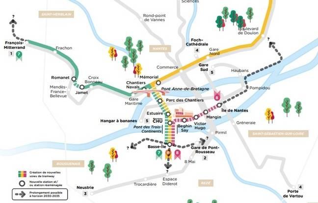 Nantes: La concertation sur l'avenir du tramway prolongée, des tendances ressortent déjà