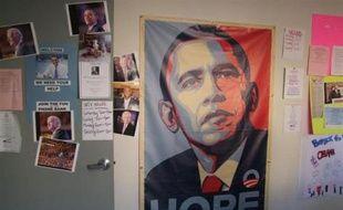 Le QG californien d'Obama, à Los Angeles