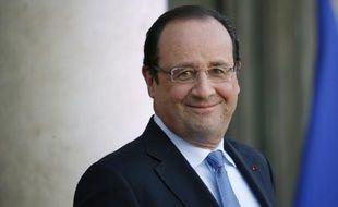 François Hollande à l'Elysée, le 5 décembre 2013.