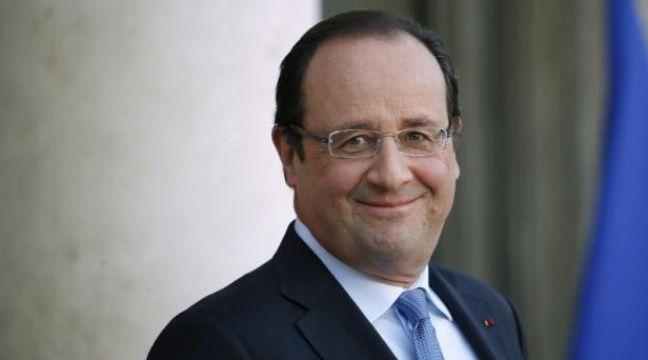 François Hollande à l'Elysée, le 5 décembre 2013. – T.SAMSON/AFP