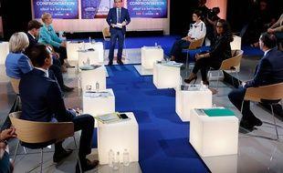 Lors du dernier débat avant les élections régionales, sur LCI, Audrey Pulvar et Laurent Saint-Martin ont fait front contre le RN.