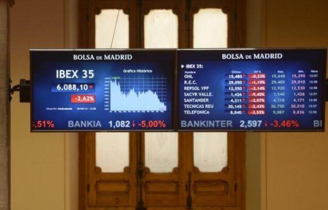 L'Espagne a réussi jeudi à emprunter plus de 2 milliards d'euros sur les marchés, mais a dû concéder des taux d'intérêt en forte hausse, signe que la tension ne se relâchera pas complètement tant que le pays n'aura pas obtenu d'aide européenne pour ses banques.