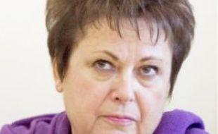 Christine Boutin, présidente par intérim du conseil général des Yvelines.