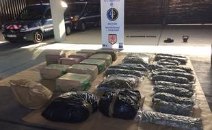Près de 700 kg de drogue ont été saisis par les gendarmes en Haute-Garonne.