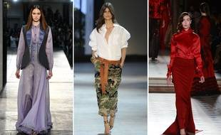 Défilés haute couture printemps-été 2016 Alexis Mabille, Alexandre Vauthier et Julien Fournié.