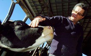 Dominique Barrau, numéro deux de la FNSEA, premier syndicat agricole du pays.