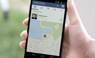 localiser un portable via facebook