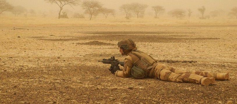 Un militaire de l'opération Barkhane, en 2019. (archives)