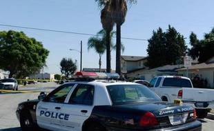 Une voiture de police californienne (photo d'illustration)