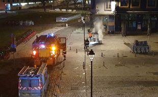 Les pompiers et ENEDIS sont intervenus.