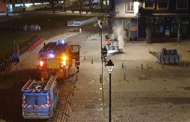 VIDEO. Lille: Les habitants d'un quartier réveillés par une série d'explosions