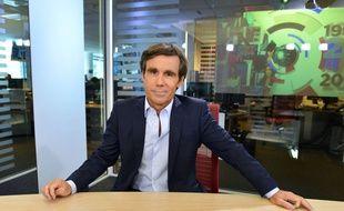 David Pujadas, présentateur vedette du 20 Heures de France 2 en 2014