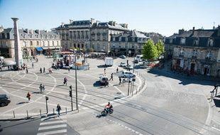 La place de la Victoire à Bordeaux