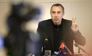 Jean-Marc Morandini en conférence de presse, le 19 juillet 2016.