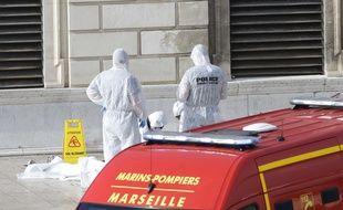Un homme a tué deux femmes, ce dimanche, gare Saint-Charles à Marseille.