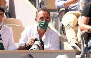 Nikos Aliagas, le 11 juin 2021, à Roland-Garros.