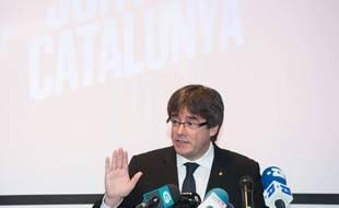 Carles Puigdemont, le 25 novembre 2017.