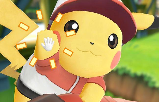 Selon votre version du jeu, Pikachu ou Evoli seront vos compagnons de voyage.