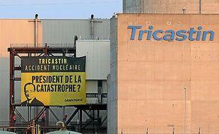 La centrale du Tricastin.