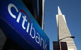 La banque américaine Citigroup a profité l'an dernier de ses efforts pour réduire ses dépenses, mais ses performances, plombées notamment par un ralentissement des activités de crédit immobilier, restent insuffisantes aux yeux de Wall Street.