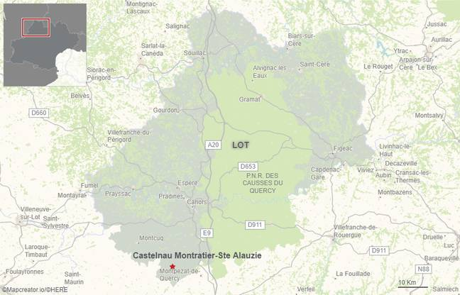 L'accident s'est produit le 23 mars 2021 sur la commune de Castelnau-Montratier, dans le Lot.