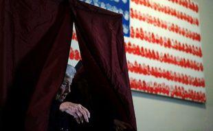 Un bureau de vote dans le New Jersey, le 8 novembre 2016.