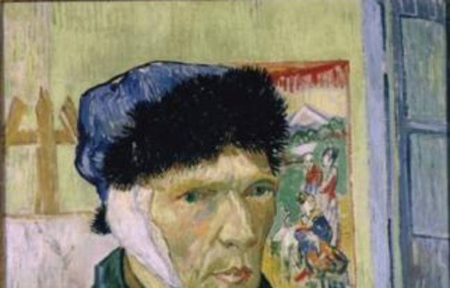 Van gogh l oreille coup e - Van gogh autoportrait oreille coupee ...