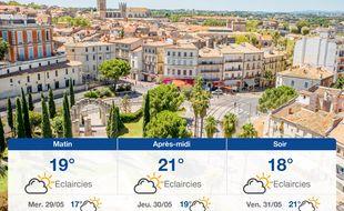 Météo Montpellier: Prévisions du mardi 28 mai 2019