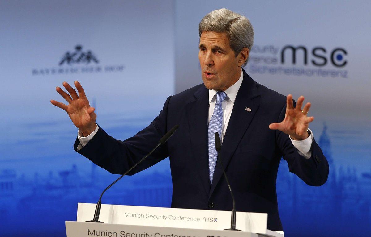John Kerry à Munich, le 13 février 2016. – Matthias Schrader/AP/SIPA