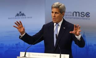 John Kerry à Munich, le 13 février 2016.